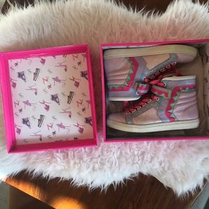 Sophia Webster Barbie High Top Sneakers